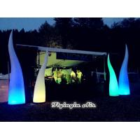 Buy cheap 3m Concert Light, Beautiful Inflatable Fire, Inflatable Light Cone for Decoration from Wholesalers