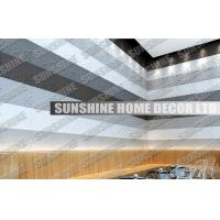 Buy cheap Sound Absorption Plastic 3D Wall Art Tiles For Office / Living Room from wholesalers
