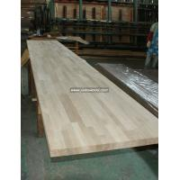 Buy cheap Oak solid wood finger jionted worktops countertops table tops butcher block tops kitchen tops from wholesalers