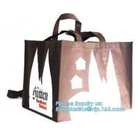 China Heat seal reusable bag/ customized new design eco-friendly non woven bag/ pink nonwoven shopping bag, limited, litd, com on sale