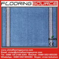 Buy cheap Cut Pile Carpet Entrance Floor Mat  polypropylene fibers pvc bakcing from wholesalers