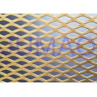 Buy cheap Functional Facade Treatment Architectural Expanded Metal Mesh Striking Cladding product