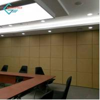 Buy cheap Plywood board movable walls partition acoustic partitioning removable wall partitioning movable walls soundproof from wholesalers