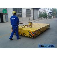 Buy cheap environmental platform structure motorized trackless transfer carriage with limit switch from wholesalers