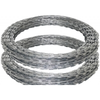 Buy cheap Galvanized 450mm 18inch Chain Link Razor Barbed Wire Spiral from wholesalers