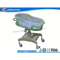 Buy cheap Anti-rust Stable ABS Plastic Hospital Baby Cots Bed / Cart For Children Welfare from wholesalers