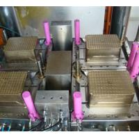 Buy cheap Low Noise Plastic Molding Equipment / Plastic crate Making Machine Simple Operation , vegetable / fruit making mould from wholesalers