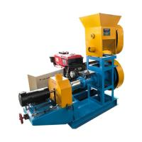 Buy cheap Dry Type Fish Pellet Machine , Full Automatic Fish Feed Machine from wholesalers