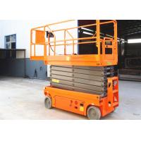 Buy cheap Smart Self Leveling Scissor Lift 11.8m Lightweight 230kg Loading Capacity product