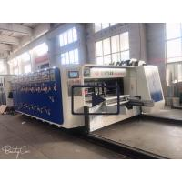 Buy cheap High Precision Carton Making Machine 15kw - 30kw With 20crmnti Alloy Steel Transmission from wholesalers