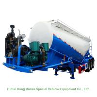 China High Tensile Steel Tank Semi Trailer For Cement Carrier 60cbm 3 Axle V Shaped on sale