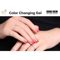Buy cheap Easy Peel Off Colour Changing Gel Nail Polish , Heat Sensitive Nail Polish product