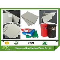 Buy cheap Grade AA Full Grey Paper Board Rigid Boxes Cardboard Sheets , MSDS from wholesalers