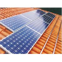 Buy cheap 2KW Home Rooftop / Ground Mounted Grid Tied Solar Power System 110V - 240V from wholesalers