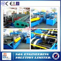 Buy cheap High Efficient Pallet Rack Roll Forming Machine For 1.5 - 2.0mm Plate Material from wholesalers