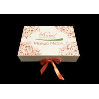 Buy cheap Cream Paper Folding Gift Box CMYK Printing  For Sweet Candy Packaging from wholesalers
