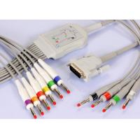 Buy cheap GE Muliti Link 900112-001 / 002 ECG Cable EKG Wires Nylon Connector from wholesalers