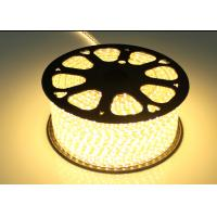 Buy cheap Warm White High Voltage LED Strip For Holiday / Wedding AC 220V Input from wholesalers