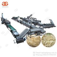 Buy cheap Factory Price Full Automatic Sweet Frozen French Fries Frying Processing Line Plant Potato Chips Making Machine for Sale from wholesalers