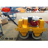 Buy cheap Road Construction Machinery Walk Behind Double Drum Vibrator Road Roller from wholesalers