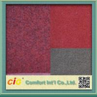 Buy cheap 100% Polyester Nonwoven Needle Punched Carpet Fabrics For Hotel , Eco - Friendly from wholesalers