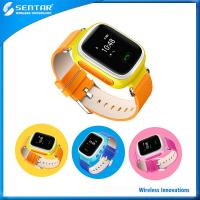 Buy cheap Multi-function Colorful GPS tracking and monitoring safeguard smart watch for kids product