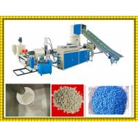 Buy cheap High Speed Shopping Bag / Plastic Film Recycling Machine With Water Cooling from wholesalers