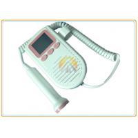 Home Ultrasounic Pocket Fetal Doppler 2 Mhz PHR Probe 0.48KG Weight