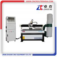 Advertising Wood CNC Cutting Machine 4*4 feet with dust collector ZK-1212-2.2KW