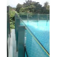 Buy cheap Clear Laminated Pool Fencing Glass PVB Single Glass Thick 19 mm from wholesalers
