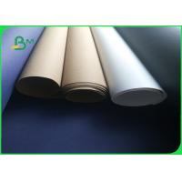 Buy cheap 0.55mm Durable Washable Fabric Kraft Liner Paper in White & Brown Color from wholesalers