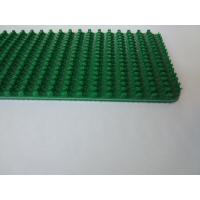 Buy cheap Grip Pattern Petrol Green PVC Conveyor Belt Replacement High Performance Wear Resistant from wholesalers