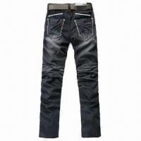 Buy cheap Men's New Style Black Jeans, Customized Colors and Sizes are Accepted product