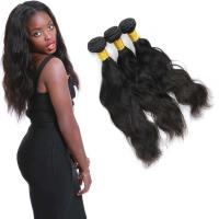 Buy cheap Clean Weft Natural Wave Virgin Hair , Virgin Peruvian Remy Natural Wave Hair from wholesalers