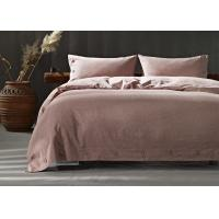 Buy cheap Soft Cotton Bed Sheets 4Pcs Multiple Colors Lightweight Fabric Size Optional from wholesalers