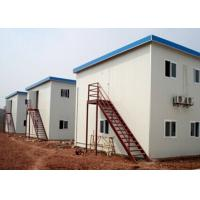 Buy cheap Temporary Mobile Office Prefabricated Modular Homes Prebuilt  Labor House from wholesalers