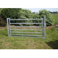 Buy cheap Portable Cattle Yard Panels Corral Sheep Panel 50X50MM Vertical Tube 4FT X 8FT from wholesalers