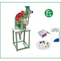 Buy cheap Green color high quality semi-automatic eyelet machine model no.712E with reasonable price from wholesalers