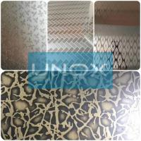 Buy cheap 304 Bronze Color Stainless Steel Sheet Hairline Finish-lUnox Color Stainless Steel Sheets Plate from wholesalers