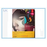 Buy cheap CS6 Adobe Graphic Design Software Standard MAC Full Student Edition Creative Suite English from wholesalers