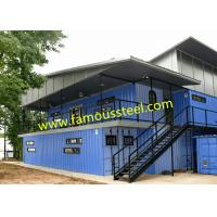 Buy cheap Modular Container Hotel Solutions Affordable Shipping Containers For Single - Family Options from wholesalers