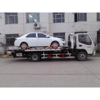 Buy cheap Flatbed Car Carrier Wrecker from wholesalers