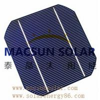 Buy cheap Mono 6' (156*156) black or blue Mono Crystalline Silicon Solar Cell from wholesalers