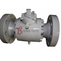 Buy cheap Forged Steel Three Piece Ball Valve Trunnion Mounted Soft Seated 150LB - 2500LB from wholesalers