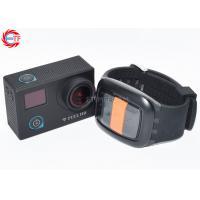 CE / ROHS Remote Control Sports Camera , Waterproof Mini Sport Camcorders