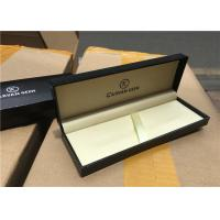 Buy cheap Solid Paper Pen Gift Boxes Luxury , Wooden Pen Case Matt Lamination from wholesalers