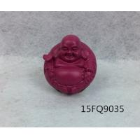 Buy cheap Resin buddha/ laughing color buddha statue/polyresin statue of buddha/rose red/buddha head from wholesalers
