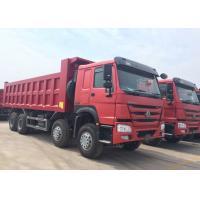 25CBM Heavy Dump Truck 12 Wheels Front Lifting System RHD Steering