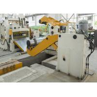 Buy cheap Hydraulic Steel Cut To Length Line Thick / Thin Plate Cutting Unit Easy Operate from wholesalers
