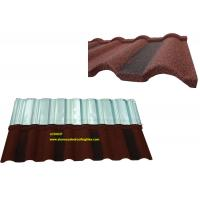 Buy cheap Roman Tile Coloured Corrugated Roofing Sheets For Building Material from wholesalers